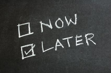 The struggle is real: Procrastination