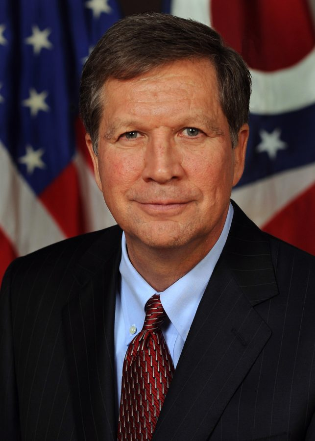 Current+Ohio+Governor+and+2016+GOP+Candidate+John+Kasich