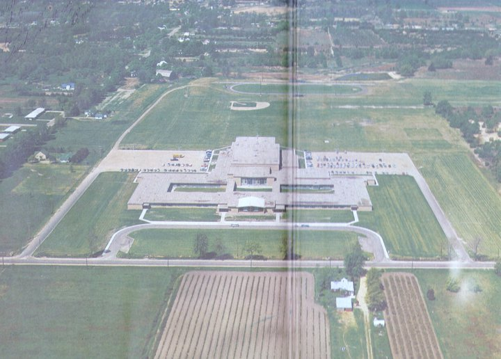 Ariel Shot of WOHS in 1962.