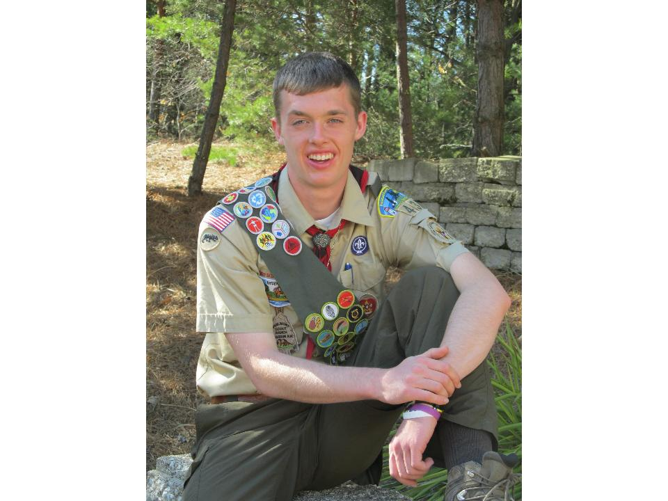Eagle Scout Ethan Israels