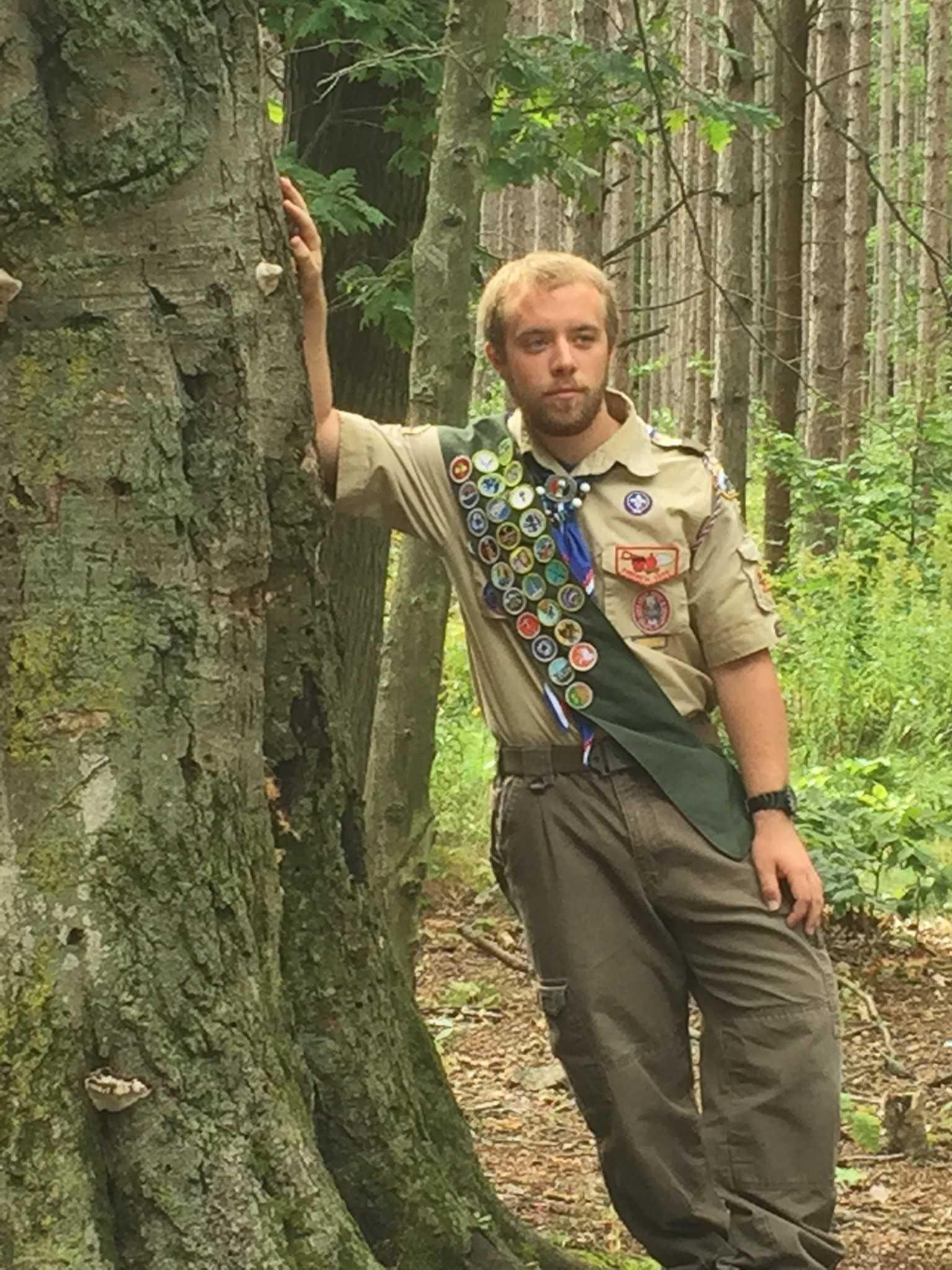 Eagle Scout Karl Heindlmeyer