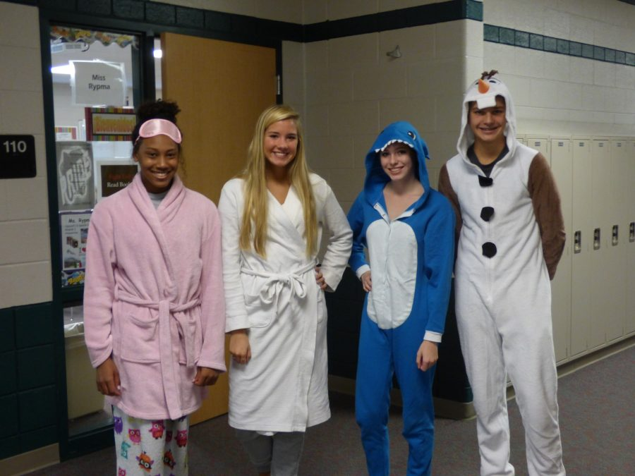 HOCO 2016 Day 1(Pajama Day)