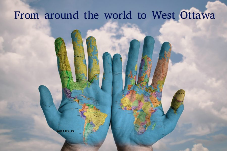 From around the world to West Ottawa