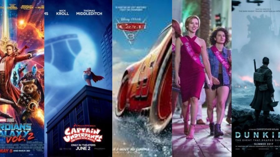 Five must-see movies of summer 2017