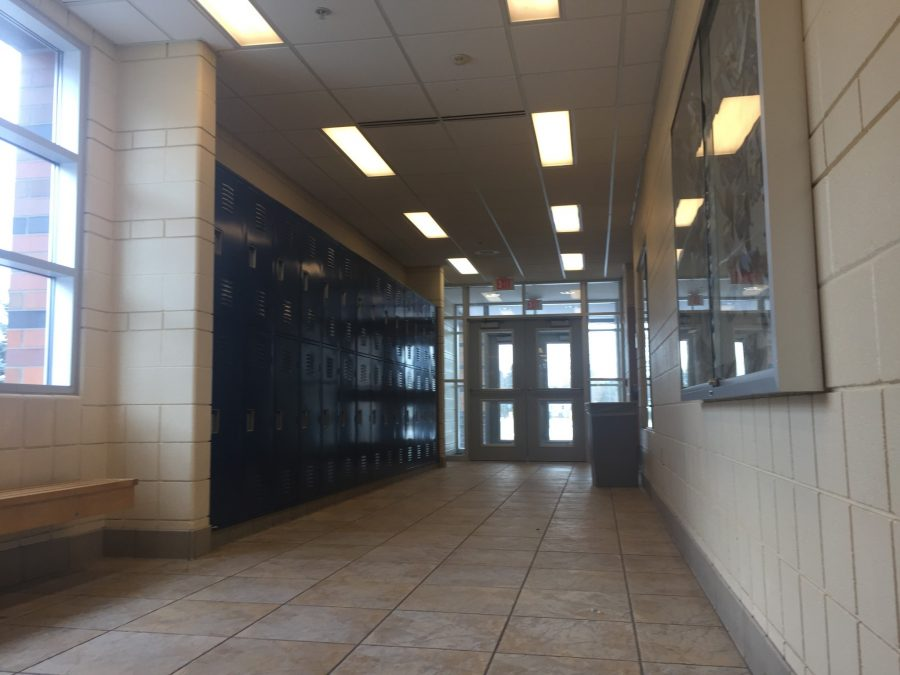 Using the band doors during lunch