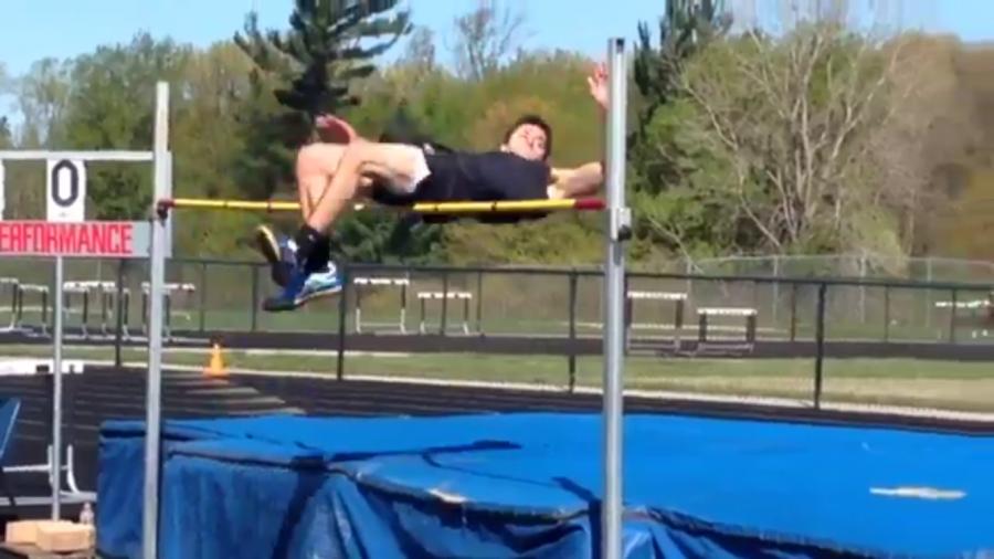 High jump: Technique is key