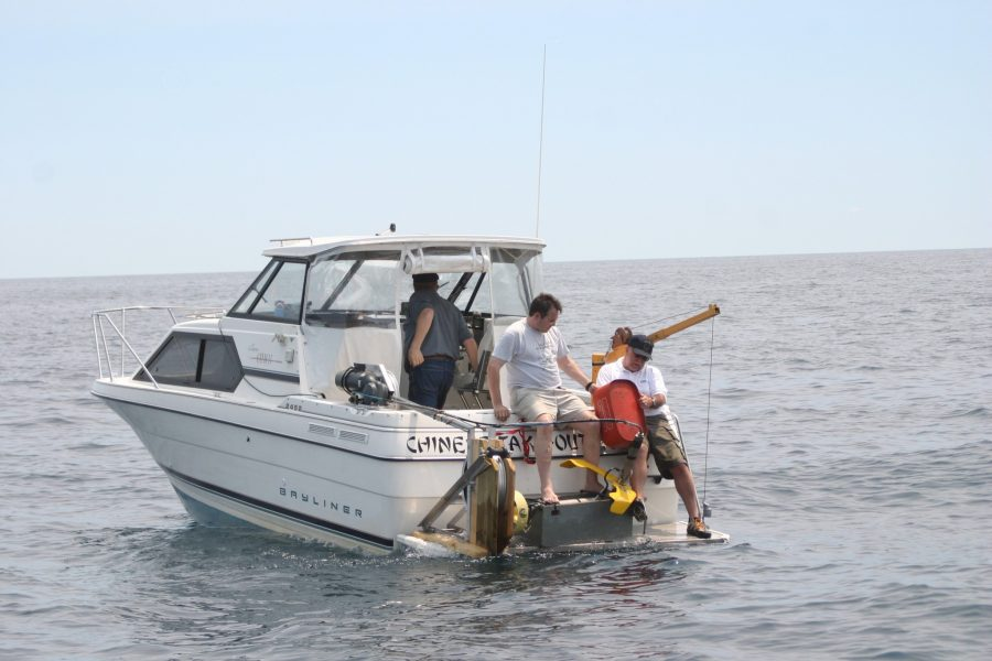 Finding shipwrecks in the Great Lakes