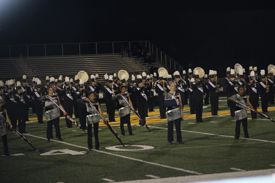 WO marching band receives a one at Festival