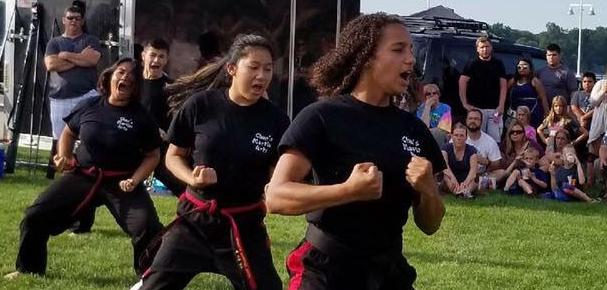 Kristal Maung taekwondo champion