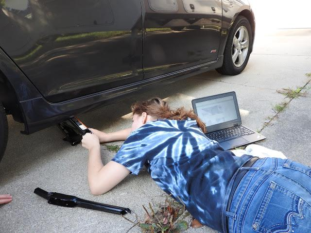 Changing a tire: Intimidating but pretty easy