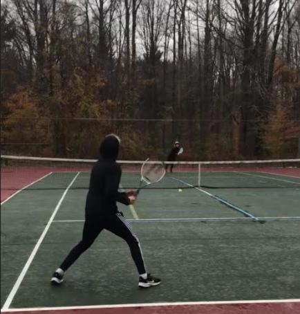 Ben and Brady vs. WO: Tennis