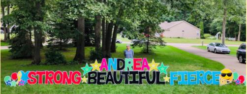 Andrea Andreadis: Strong, beautiful, fierce