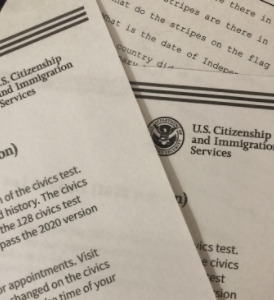 Required to gain citizenship, the civics test is no joke