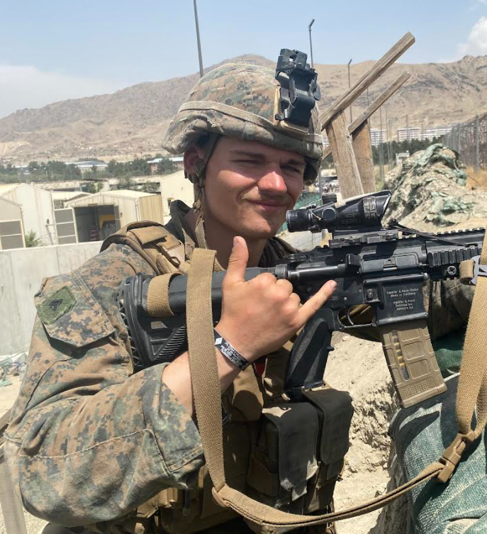 From Holland to Kabul: The winding path of Marine Cam Hillerich